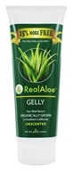 Real Aloe - Organically Grown Aloe Vera Gelly Unscented - 6.8 oz.