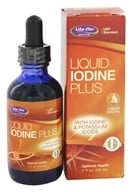 Life-Flo - Liquid Iodine Plus With Iodine & Potassium Iodide - 2 oz.