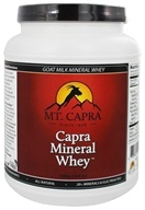Mt. Capra Products - Capra Goat Milk Mineral Whey - 50.8 oz.