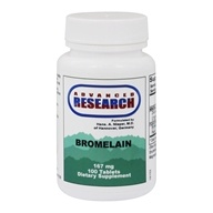 Advanced Research - Bromelain with Papain - 100 Tablets