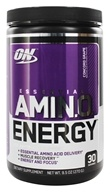 Optimum Nutrition - Essential AmiN.O. Energy Concord Grape 30 Servings - 9.5 oz.