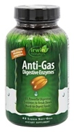 Irwin Naturals - Anti-Gas Digestive Enzymes - 45 Softgels Formerly Full-Spectrum Daily Digestive Enzymes