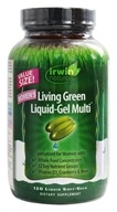 Irwin Naturals - Living Green Liquid-Gel Multi For Women - 120 Softgels