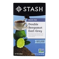 Stash Tea - Premium Double Bergamot Earl Grey Black Tea - 18 Tea Bags