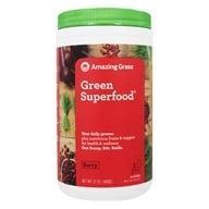 Amazing Grass - Green SuperFood Drink Powder 60 Servings Berry Flavor - 17 oz.