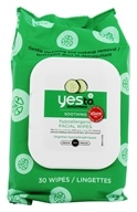 Yes To - Cucumbers Facial Towelettes Natural Glow - 30 Towelette(s)