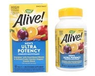 Nature's Way - Alive Once Daily Men's Multi-Vitamin & Whole Food Energizer Ultra Potency - 60 Tablets