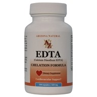 Arizona Natural - EDTA 600 mg. - 100 Capsules