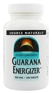 Source Naturals - Guarana Energizer 900 mg. - 100 Tablets