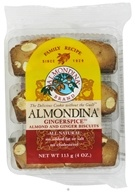 Almondina - Gingerspice Almond and Ginger Biscuits - 4 oz.