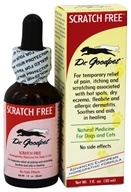 Dr. Goodpet - Scratch Free Homeopathic Formula For Dogs & Cats - 1 oz.
