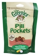 Greenies - Pill Pockets For Cats Salmon Flavor - 1.6 oz.