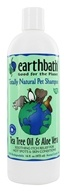 Earthbath - Pet Shampoo Tea Tree Oil & Aloe Vera - 16 oz.