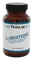 Twinlab - L-Ornithine 500 mg. - 100 Capsules