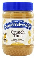 Peanut Butter & Co. - Crunch Time Natural Peanut Butter with Great Big Pieces of Chopped Peanuts - 16 oz.