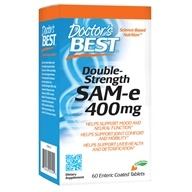 Doctor's Best - SAMe 400 Double Strength 400 mg. - 60 Enteric-Coated Tablets