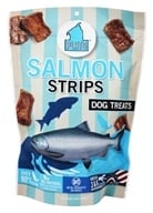 Plato Pet Treats - Pacific Salmon Strips For Dogs - 16 oz.