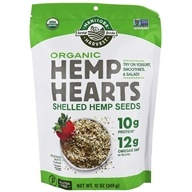 Manitoba Harvest - Hemp Hearts Raw Shelled Hemp Seed Certified Organic - 12 oz.