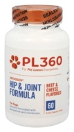 PL360 - Arthogen Hip & Joint Formula For Dogs Beef & Cheese Flavored - 60 Chewable Tablets