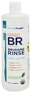 Essential Oxygen - Organic Brushing Rinse Toothpaste Plus Mouthwash Peppermint - 16 oz.