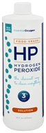 Essential Oxygen - Hydrogen Peroxide Solution 3% Food Grade - 16 oz.