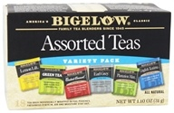 Bigelow Tea - Six Assorted Teas Variety Pack - 18 Tea Bags