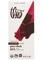 Theo Chocolate - Classic Collection Organic Dark Chocolate 85% Cacao Pure - 3 oz.