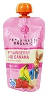 Peter Rabbit Organics - Organic Fruit Snack 100% Pure Strawberry and Banana - 4 oz.