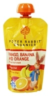 Peter Rabbit Organics - Organic Fruit Snack 100% Pure Mango, Banana and Orange - 4 oz.
