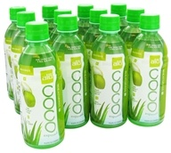 ALO - Coco Exposed Pure Coconut Water + Real Aloe Vera Wheatgrass - 11.8 oz.