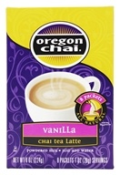 Oregon Chai - Vanilla Chai Tea Latte Mix - 8 Packet(s)