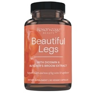 ReserveAge Organics - Beautiful Legs Advanced Diosmin Complex - 30 Vegetarian Capsules