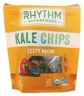 Rhythm Superfoods - Organic Kale Chips Zesty Nacho - 2 oz.