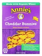 Annie's - Bunnies All-Natural Baked Snack Crackers Cheddar - 7.5 oz.