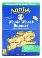 Annie's - Bunnies All-Natural Baked Snack Crackers Whole Wheat - 7.5 oz.