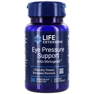 Life Extension - Eye Pressure Support with Mirtogenol - 30 Vegetarian Capsules