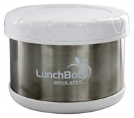 """LunchBots - Insulated Thermal 3.5"""" High x 4.5"""" Wide White - 16 oz."""