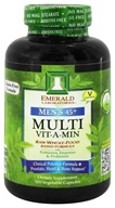 Emerald Labs - Men's 45+ Multi Vit-A-Min Raw Whole-Food Based Formula - 120 Vegetarian Capsules