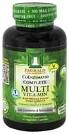 Emerald Labs - Complete Multi Vit-A-Min Raw Whole-Food Based Formula - 30 Vegetarian Capsules