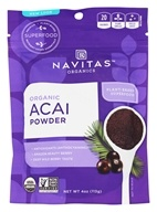 Navitas Naturals - Freeze-Dried Acai Powder Certified Organic - 4 oz.