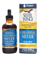 Natural Path Silver Wings - Colloidal Silver 250 Ppm - 4 oz.