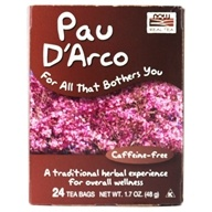 NOW Foods - Pau D'Arco Tea - 24 Tea Bags