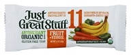 Betty Lou's - Just Great Stuff Bar Organic Fruit & Veggie - 1.5 oz.
