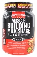 Six Star Pro Nutrition - Elite Series Muscle Building Milk Shake Decadent Chocolate - 2 lbs.