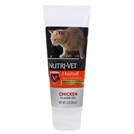 Nutri-Vet - Hairball Paw-Gel For Cats Chicken - 3 oz.