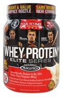 Six Star Pro Nutrition - Elite Series Whey Protein Plus Vanilla Cream - 2 lbs.