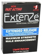 ExtenZe - Maximum Strength Male Enhancement Fast Acting Extended Release - 30 Liquid Capsules