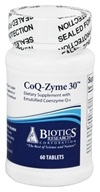 Biotics Research - CoQ-Zyme 30 mg. - 60 Tablets