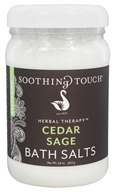 Soothing Touch - Bath Salts Restoring Cedar Sage - 32 oz. LUCKY PRICE