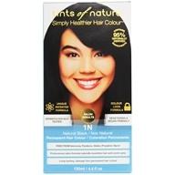 Tints Of Nature - Conditioning Permanent Hair Color 1N Natural Black - 4.4 oz. LUCKY PRICE
